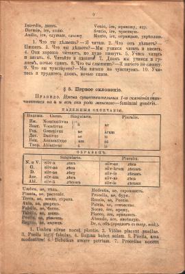 Михайловский М.М. От латинской азбуки до имен существительных третьего склонения