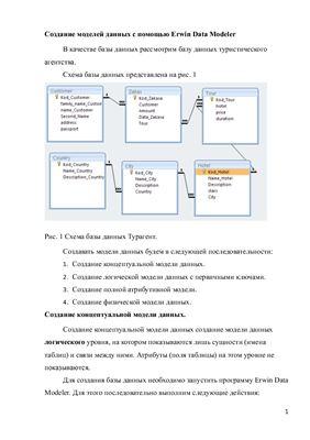 Рахманов В.И. Создание моделей данных с помощью Erwin Data Modeler
