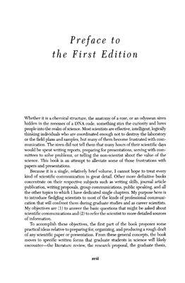 Davis M. Scientific Papers and Presentations