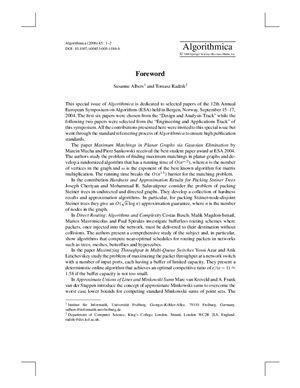 Algorithmica 2006 №45