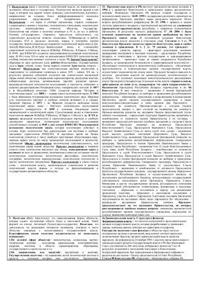 Политология РБ