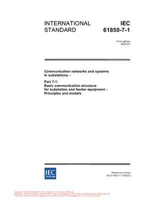 Стандарт МЭК-61850