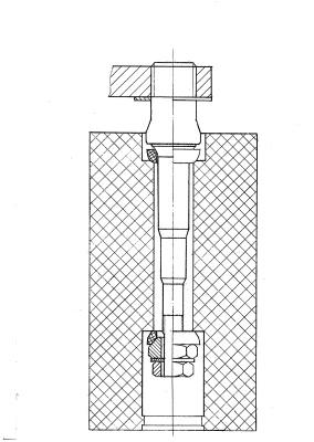 Конструкция крепления педали велотренажера HM-001 Pro
