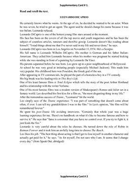 Тексты для чтения. Экзаменационный материал для 9-11 классов