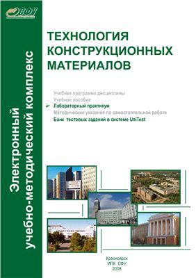 Астафьева Е.А., Носков Ф.М. Технология конструкционных материалов. Лабораторный практикум