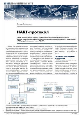 Половинкин В. HART - протокол