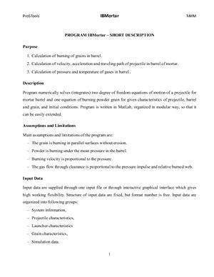 IBMortar - short description