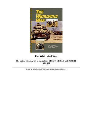 Frank N. Schubert&Theresa L. Kraus. The Whirlwind War