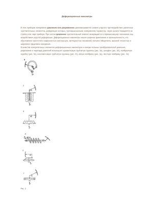 Ответы по дисциплине Технические измерения и приборы в