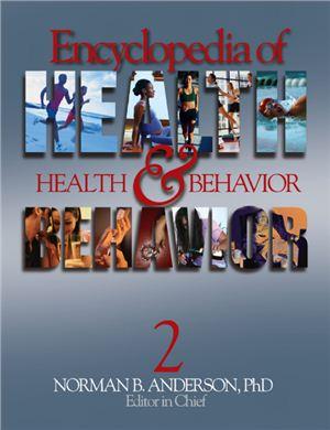 Anderson N.B. (ed.) Encyclopedia of Health and Behavior