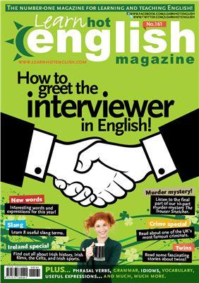 Hot English Magazine 2015 №161