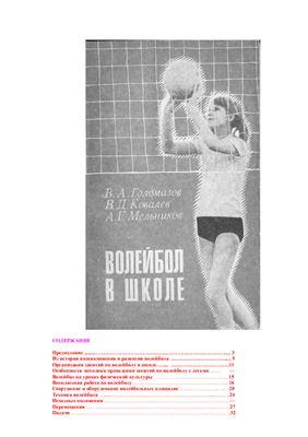 Голомазов В.А. и др. Волейбол в школе
