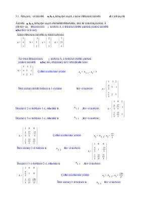 Индивидуальные задания по высшей математике