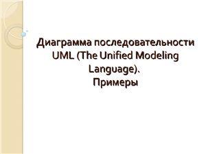Диаграмма последовательности UML (The Unified Modeling Language). Примеры
