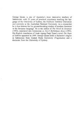 Quinn George. The Learner's Dictionary of Today's Indonesian / Учебный словарь современного индонезийского языка