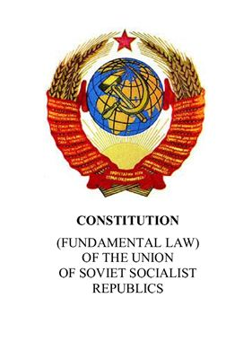 Constitution of the USSR (1977)