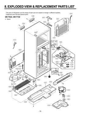 Холодильник LG-GR-T622DE