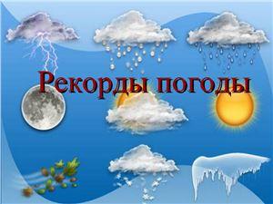 Рекорды погоды