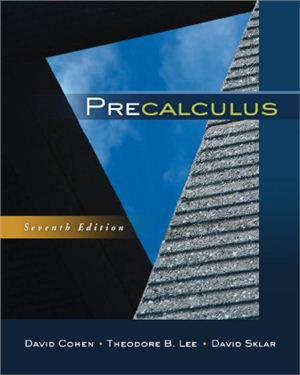 Cohen D. Precalculus