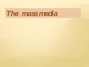 Newspapers and media