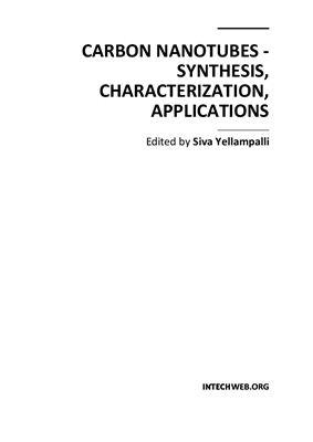Yellampalli S. (ed.) Carbon Nanotubes - Synthesis, Characterization, Applications