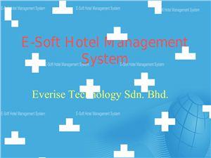 E-Soft Hotel Management System
