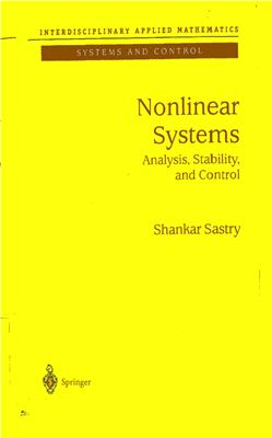 Sastry S. Nonlinear Systems