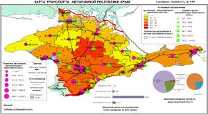 Карта - Транспорт Крыма