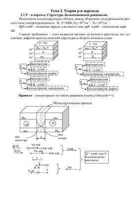 Лекции - Полупроводниковые приборы