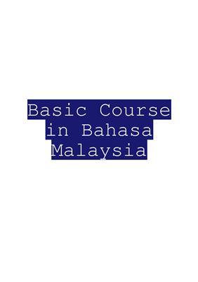 Basic Course in Bahasa Malaysia / Аудиокурс для продолжения изучения малайского языка