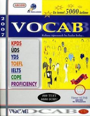 Argor-Vocab-KPDS / UDS / YDS / TOEFL / IELTS / КОПЕ / Знание - основные 5000 слов by TÜMER ALTAŞ