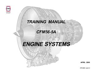 CFM56-5A Training manual. Engine systems