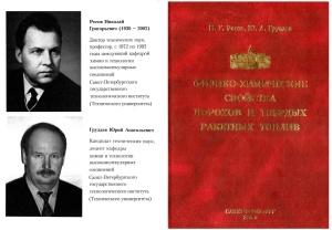 Рогов Н.Г., Груздев Ю.А. Физико-химические свойства порохов и твердых ракетных топлив
