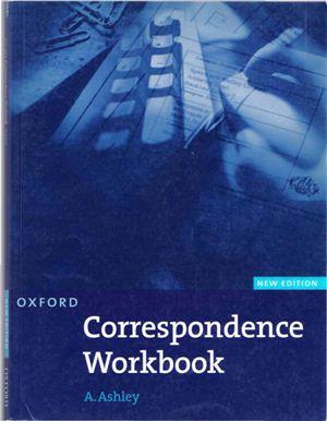 Ashley A. Correspondence Workbook