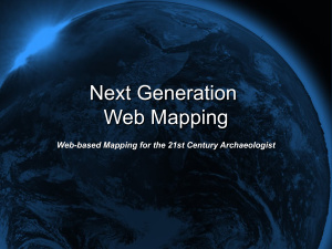 Веб-картография(Web mapping), на английском языке