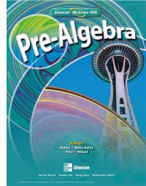 Malloy C.E., Molix-Bailey R.J., Price J. Pre-Algebra