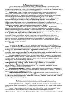 Ответы к зачету по профессиональной этике (56 вопросов)