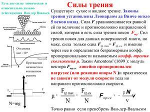 Силы трения и Специальная теория относительности