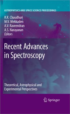 Chaudhuri R.K., Mekkaden M.V., Raveendran A.V., Narayanan A.S. Recent Advances in Spectroscopy: Theoretical, Astrophysical and Experimental Perspectives