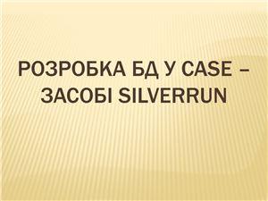 Создание базы данных в ПО Silverrun