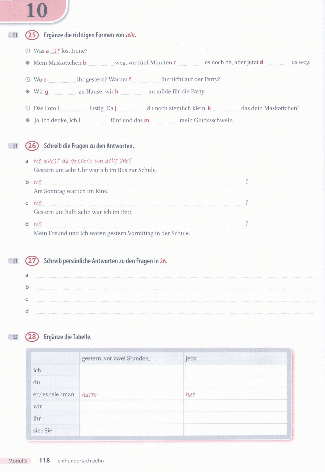 Arbeitsbuch antworten 3 ideen Ideen 3